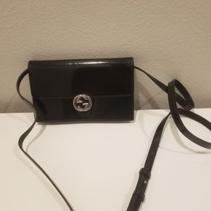 Gently used Gucci wallet on chain